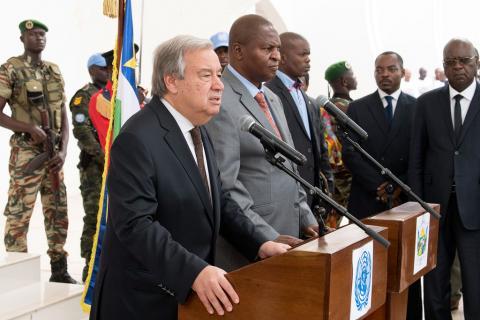 CENTRAFRIQUE: Accord de paix et les mesures punitives