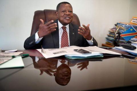 RDC: Lambert Mende brièvement arrêté puis relâché