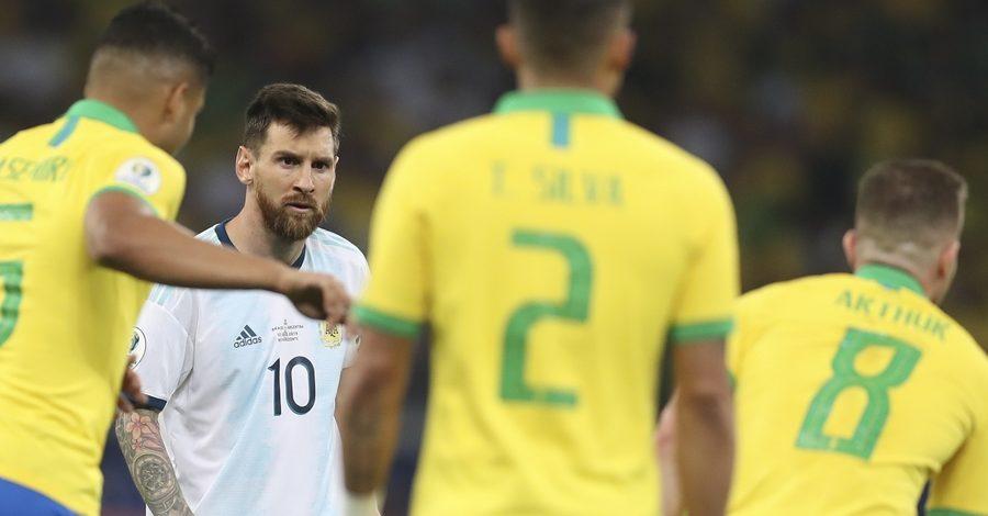"SPORT:-""Copa America 2019""-: Le Brésil bat l'Argentine"