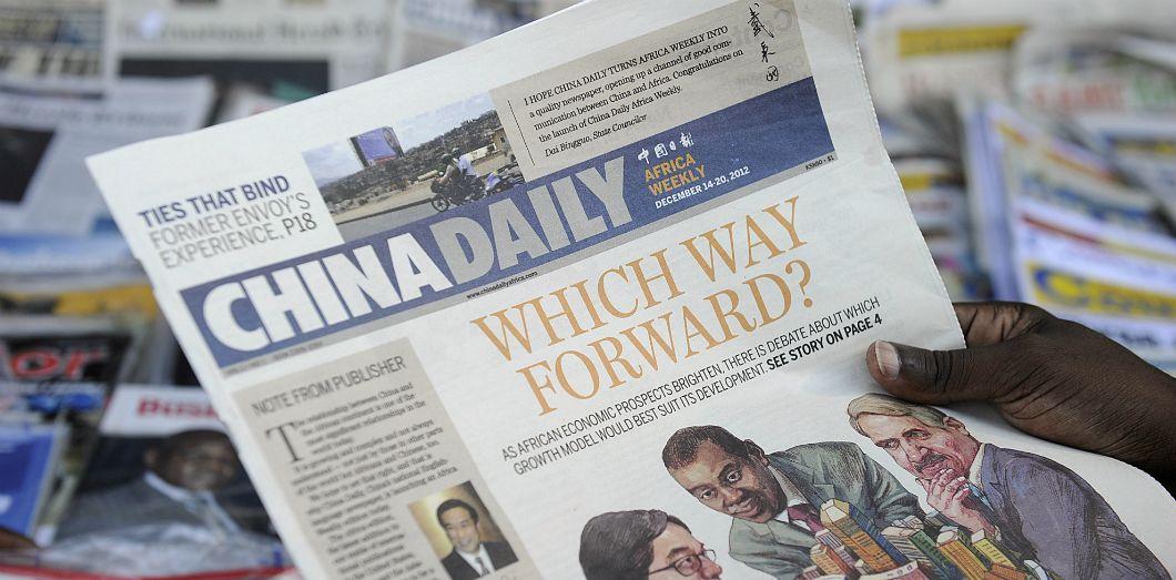 AFRIQUE: La présence médiatique de la Chine