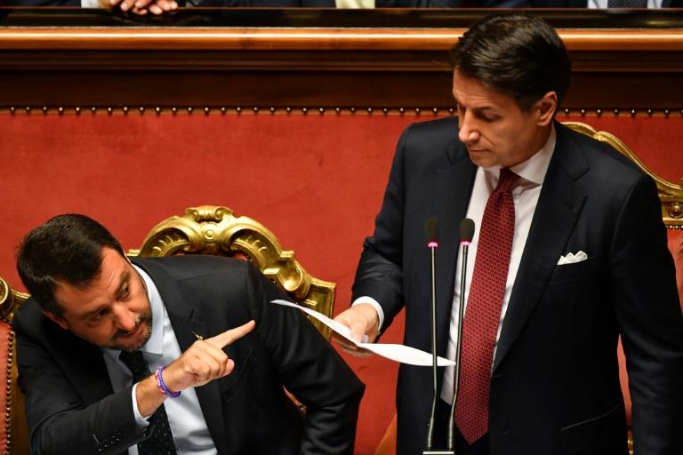 ITALIE: La fin du premier gouvernement populiste